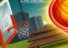 basketball machine gun